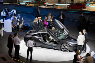 BMW i8 commercial launch <br>BMW Welt München <br>for BMW GROUP