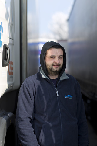trucker`s sensation after Berlin terrorist attack <br>for Der Spiegel